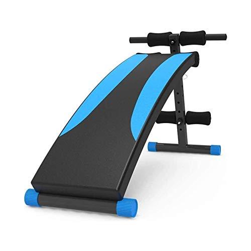 SMLZV Banco Ajustable, Banco de Peso Home Gym Gym Ajustable Entrenamiento Banco Ajustable Sit Up Bench Subling Board, Entrenamiento Ajustable Ejercicio Abdominal Banco Multifunción