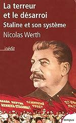 La terreur et le désarroi de Nicolas WERTH