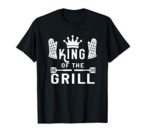 KING of the Grill - BBQ - das Shirt für echte Grillmeister