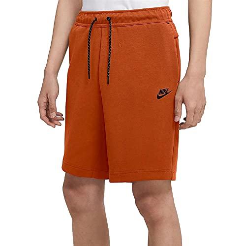Nike Sportswear Tech Fleece Men's Shorts CU4503-893 (Campfire Orange/Black), Medium