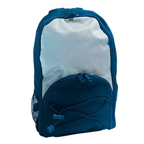 Kangaroo Joey Tasche für Futterpumpen – Känguru-Rucksack für Enteral-Pumpe – 500 ml oder 1000 ml, Marineblau