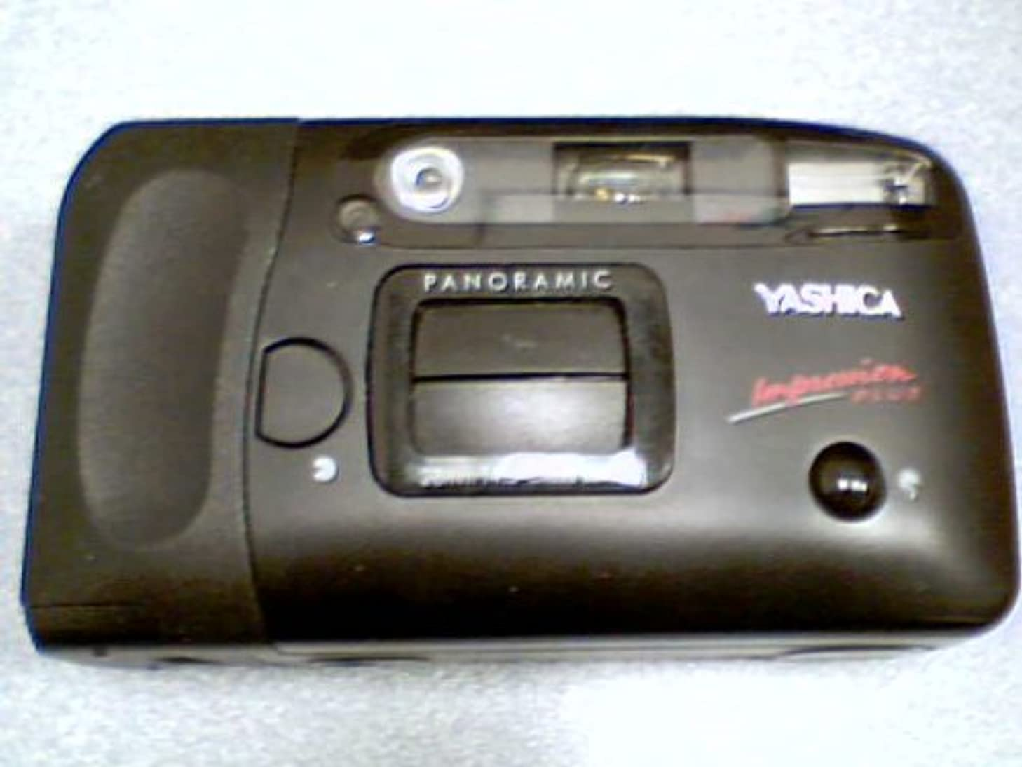 Yashica Impression Plus 35mm Film Camera w/ Panoramic Or Normal Option w/Panaramic 28mm f4.5 Glass Lens (Black Color Version)(Made in Thailand)