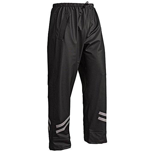 'blåkläder Workwear pioggia pantaloni'1301en 343classe 1, 67–13012000, Nero, 67-13012000-9900-M