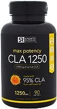 Sports Research CLA 1250, Max Potency, 1,250 mg, 90 Softgels