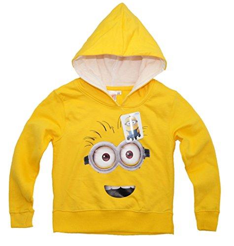 Oficial Autorizado Despicable Me Minions Sudadera con capucha jersey sudadera con capucha para niños niñas Design 3
