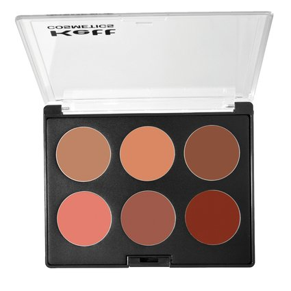 KETT cosméticos profesional crema paleta de colorete/Rouge