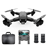 Goolsky CSJ S166GPS Drone avec Caméra 1080P/720P Retour Automatique Accueil WiFi FPV...