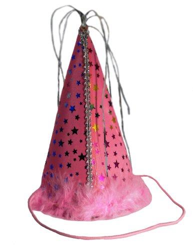 Charming Chapeau de fête pour Animaux de Compagnie, Taille L, Rose
