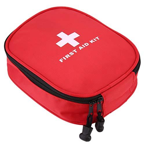 30 STKS Rode Mini Veilige Camping Wandelwagen Ehbo-tas Kit Medische Emergency Kit Behandeling Pack Outdoor Wilderness Survival