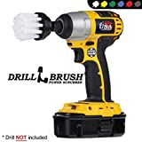 Cleaning Supplies - Shower Door - Glass Cleaner - Drill Brush - 2-inch