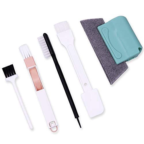 Cepillo de limpieza InFreesh para la limpieza de la ranura de la ventana pequeña para el hogar, cocina, baño, oficina, puerta corredera