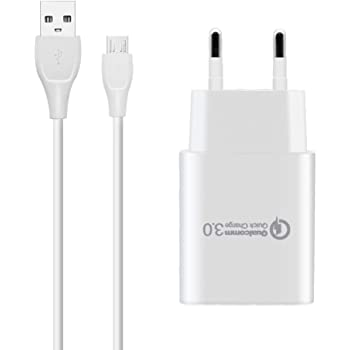 Acce2s Chargeur Rapide USB Original 1,5A + Câble pour
