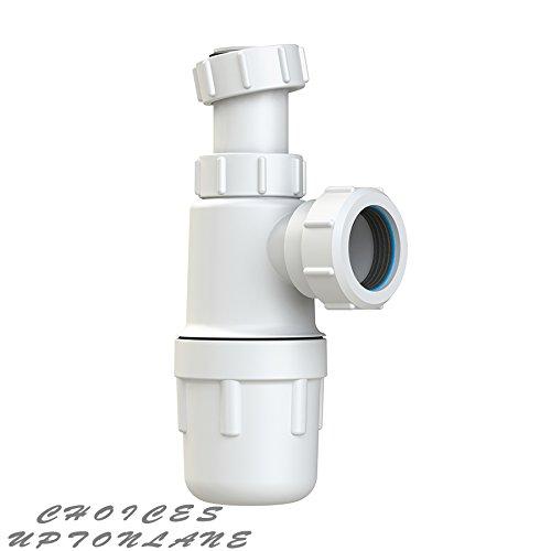 Preisvergleich Produktbild Viva easi-flo Teleskop Flaschensiphon 76 mm Dichtung für Bad Waschbecken * * wtbt32t * *