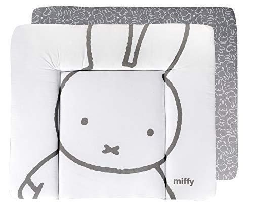 """roba Wickelauflage """"miffy"""", weiche Wickelunterlage 85x75 cm, PU-beschichtete Wickeltischauflage, abwischbar"""