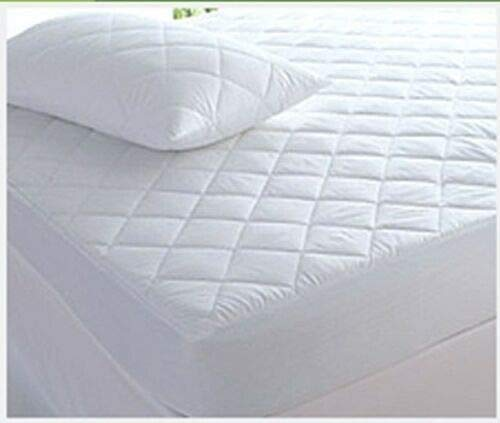 KB tradax Microfibre Quilted Waterproof Mattress Protector Non Allergenic Fully Fitted (Small Double)