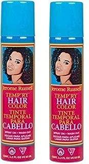 Jerome Russell Temp'ry Hair Color 2.2 Oz. Pack of 2 (Dark Blonde & Honey Blonde)