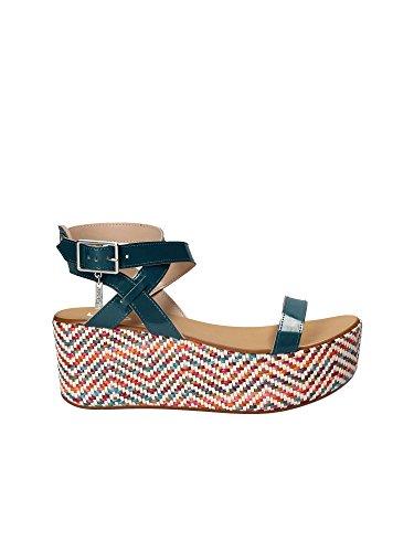 Liu Jo S17103E0352 Sandales Compensées Femmes Multi 37