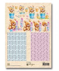 Unbekannt Nellie's 3D-Schneidebogen FM003 FEMA Weihnachts-Teddy und Teddy mit Laterne