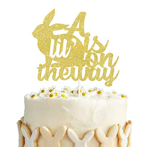 Lilyparty – A Little Bunny is On The Way Cake Topper