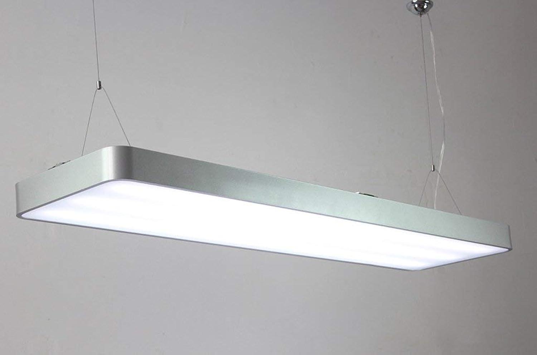 WHKHY LED Chandelier, équipeHommest optionnel de Plusieurs Tailles, Aluminium, Lampe d'éclairage de batiHommest Commercial de Bureau.