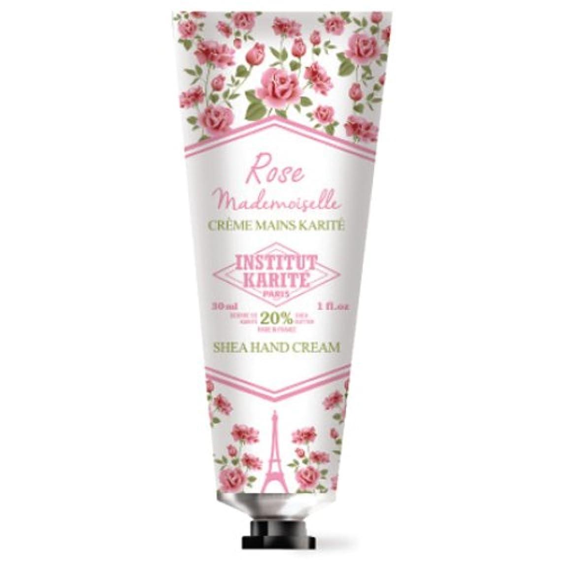 パトロンのホストジャンプINSTITUT KARITE カリテ Rose Mademoiselle クラシックローズ ハンドクリーム 30ml