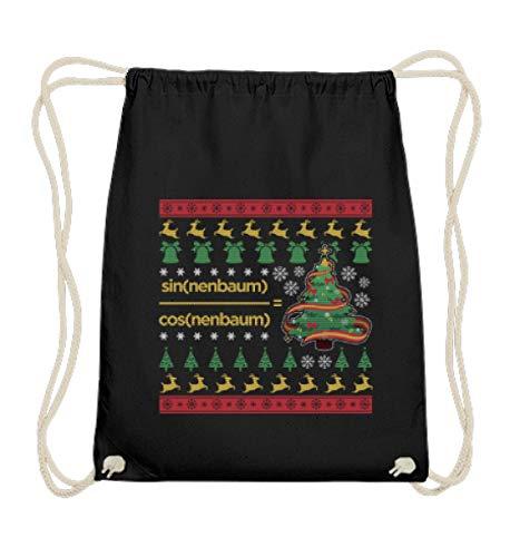 Ugly Christmas Sweater pour mathématique en coton - Noir - Noir, 37cm-46cm