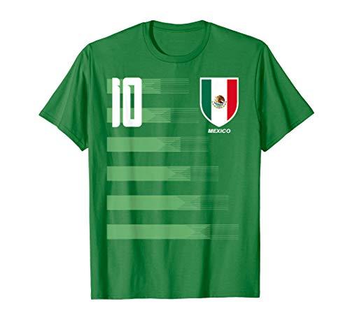 Mexico Mexican El Tri Futbol Soccer Jersey Shirt Tee T-Shirt