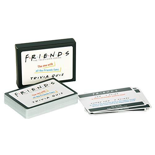 Paladone PP6444FR Friends TV Show Trivia Quiz 2nd Edition Game, 50 carte con 100 domande facili e super difficili
