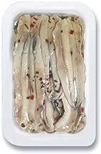 Sanniti Mare - Italian White Marinated Anchovy Fillets, 6.35 oz. Tray