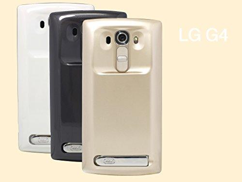 Mugen Potenza - LG G4 815T / G4 dual 818N 6200mAh ha esteso la batteria con la copertura (NFC + Wireless Charging supportato) con più di 2X Power! [Ora offrire 24 mesi di garanzia] (grigio scuro)