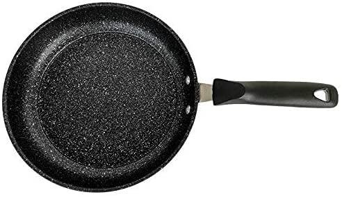 GDSKL Olla Multifunción, Sartén Antiadherente de Piedra Maifan, Sartén de Hierro para el Hogar, Ventilador para Barbacoa, Panqueques, Olla para Cocinar Woks