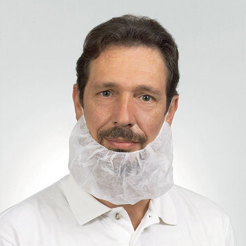 Royal White Latex Free Polypropylene Beard Protector, Package of 100 (RBP1M-IN)
