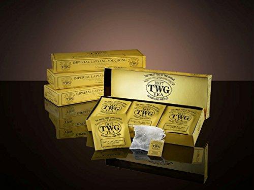 シンガポールの高級紅茶TWGシリーズ(Imperial Lapsang Souchong) インペリアルラプサンソチョン - 15茶パック - 並行輸入品 [並行輸入品]