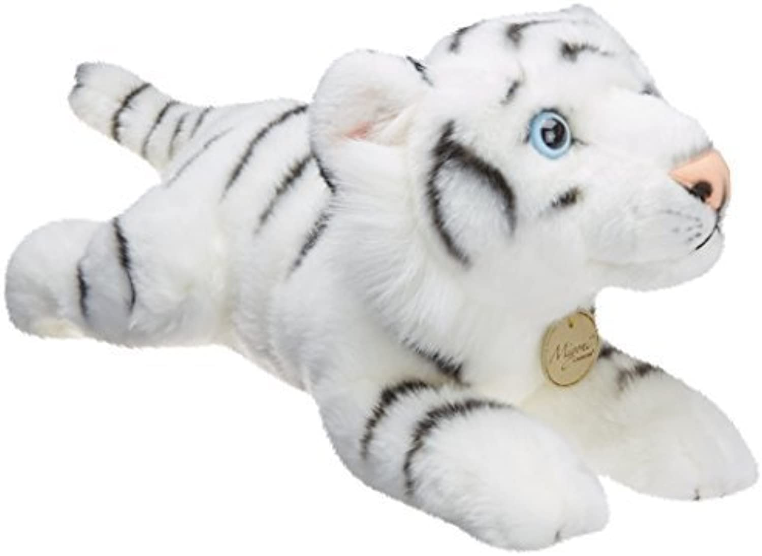 Aurora World Miyoni 16.5  Stuffed White Tiger by Aurora World
