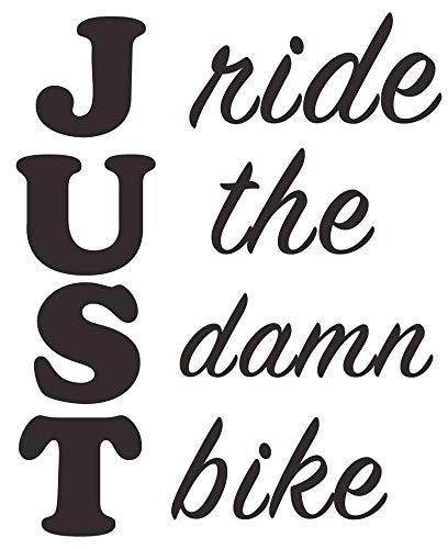 Ride the Bike Decal