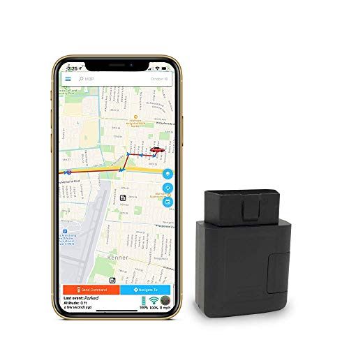 GPS Tracker - Optimus 4G LTE OBD Device - Easy Install - Plug and Drive - Real Time Tracking - Instant Alerts - Reporting History