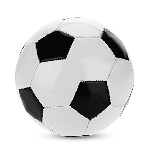 Suchinm Addestramento Tradizionale del Pallone da Calcio, Ricreazione Classica Bianca Nera Classica della Palla di addestramento di Calcio per l'attrezzatura del Giocattolo della Scuola