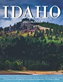Idaho: Beautiful 2022 Calendar with Large Grid for Note - To do list, Gorgeous 8.5x11   Small Calendar, Non-Glossy Paper