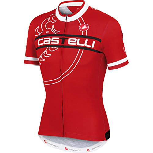 castelli Maglia Bike Segno Jersey FZ (S)