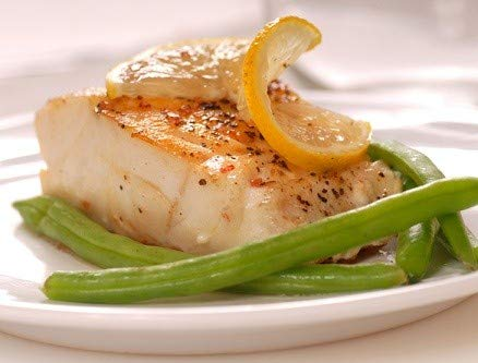 Fresh Frozen Wild Alaskan Cod by Northwest Wild Foods - Pacific Cod, Flaky, White Fish, Boneless, Skin-on, Sustainably Harvested (12 x 6 Ounce Fillets)