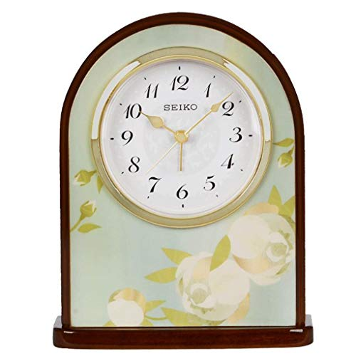GPWDSN Retro Wecker, Aktuelle Uhr Kamin Uhr Schlafzimmer Mute Scan Uhr Uhrwerk Wohnzimmer Schreibtisch Uhr/Wecker Klassische kreative Retro Uhr Familienuhr