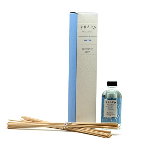 Trapp Fragrances Reed Diffuser Refill Kit, No. 20 Water, 4 Ounce