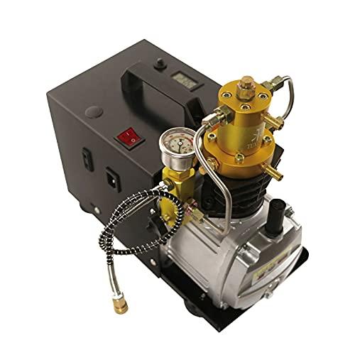 Bomba de aire de alta presión, 220 V, 50 Hz, PCP, bomba de aire eléctrica, 30 Mpa 4500 psi, disipación del calor rápida