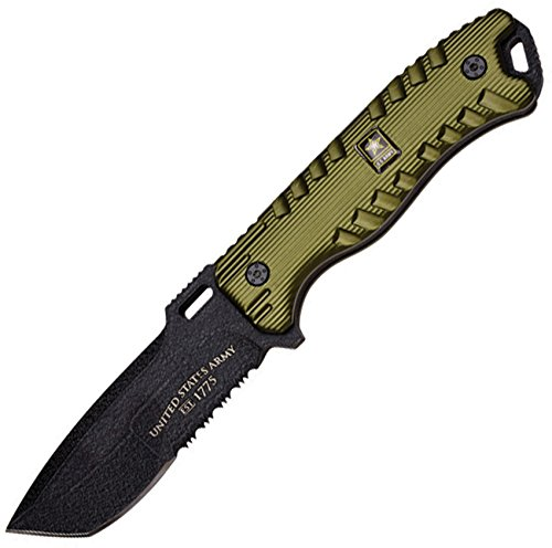 """U.S. Army A-1016GN Fixed Blade Knife 9.25"""" Overall"""