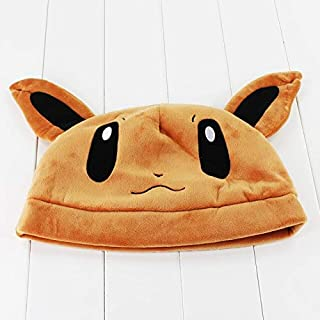 MANGMOC 9 Styles 30Cm Anime Cute Hat Flareon Espeon Plush Cap for Teenagers Adults Thing You Must Have 4 Year Old Boy Gifts Toddler Favourite Superhero Decorations Unboxing Box