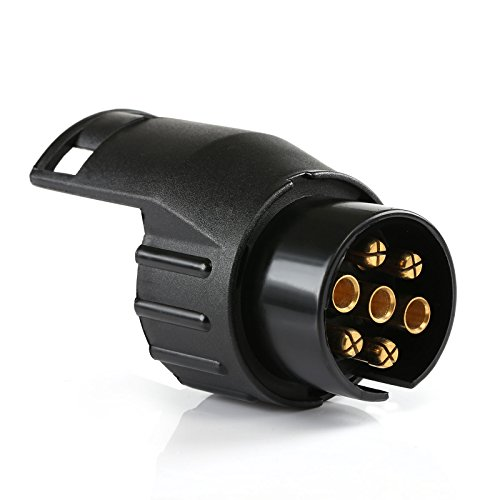 LIHAO Adapter Anhänger 7 auf 13 Polig für PKW Autoanhänger