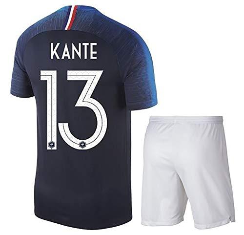 Fußball-Uniform der Fußball-Weltmeisterschaft Frankreich 2018, UMTITL 5# KANTE13# GIROUD9# Heim-Sweatshirt, Polyester kann wiederholt gewaschen werden-13black-M