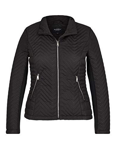 Bexleys Woman by Adler Mode Damen Jacke mit Laserstepp schwarz 38