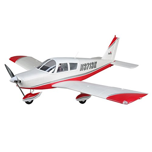E-flite RC Airplane Cherokee 1.3m BNF Basic (Transmitter, Battery and Charger not Included) with AS3X and Safe Select, EFL5450