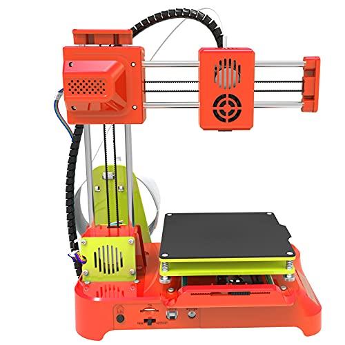 Mini impresora 3D - K7 Desktop Mini impresora de escritorio 3D, tamaño de impresión de 100 * 100 * 100 mm, impresoras 3D de bricolaje para niños Educación de estudiantes(EU)